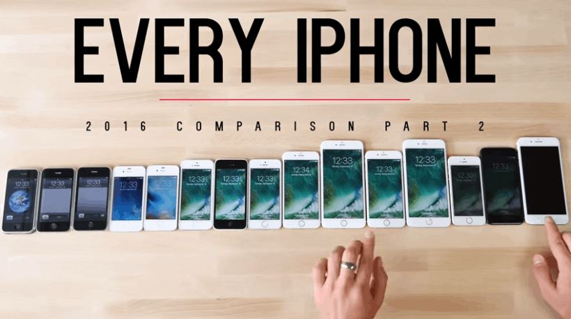 Every iPhone Compared Side by Side For Speed Test