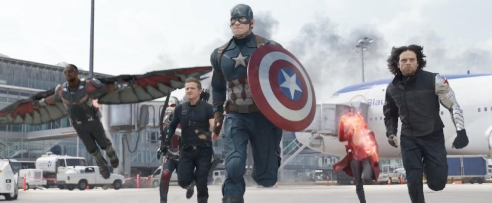 Image result for captain america civil war airport