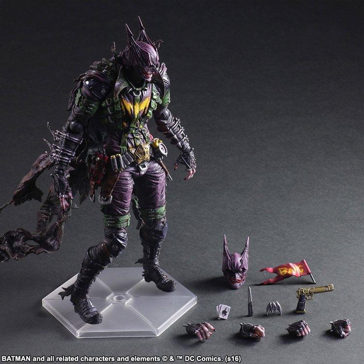 Batman and Joker Mashup Action Figure