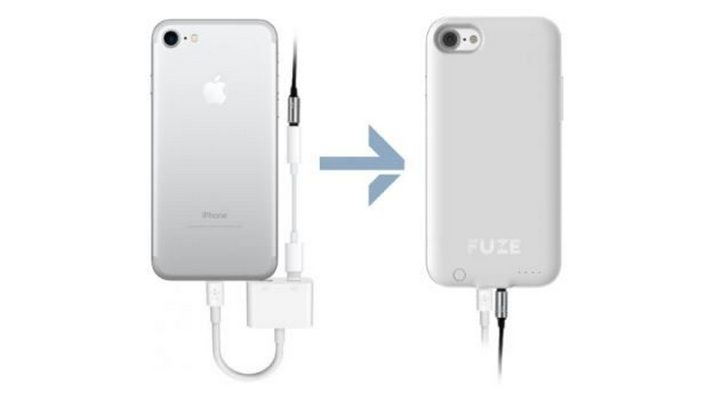 iPhone 7's Case With Headphone Jack