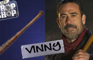 Negan's Brutal Barbed Wire-Wrapped Baseball Bat 'Lucille'