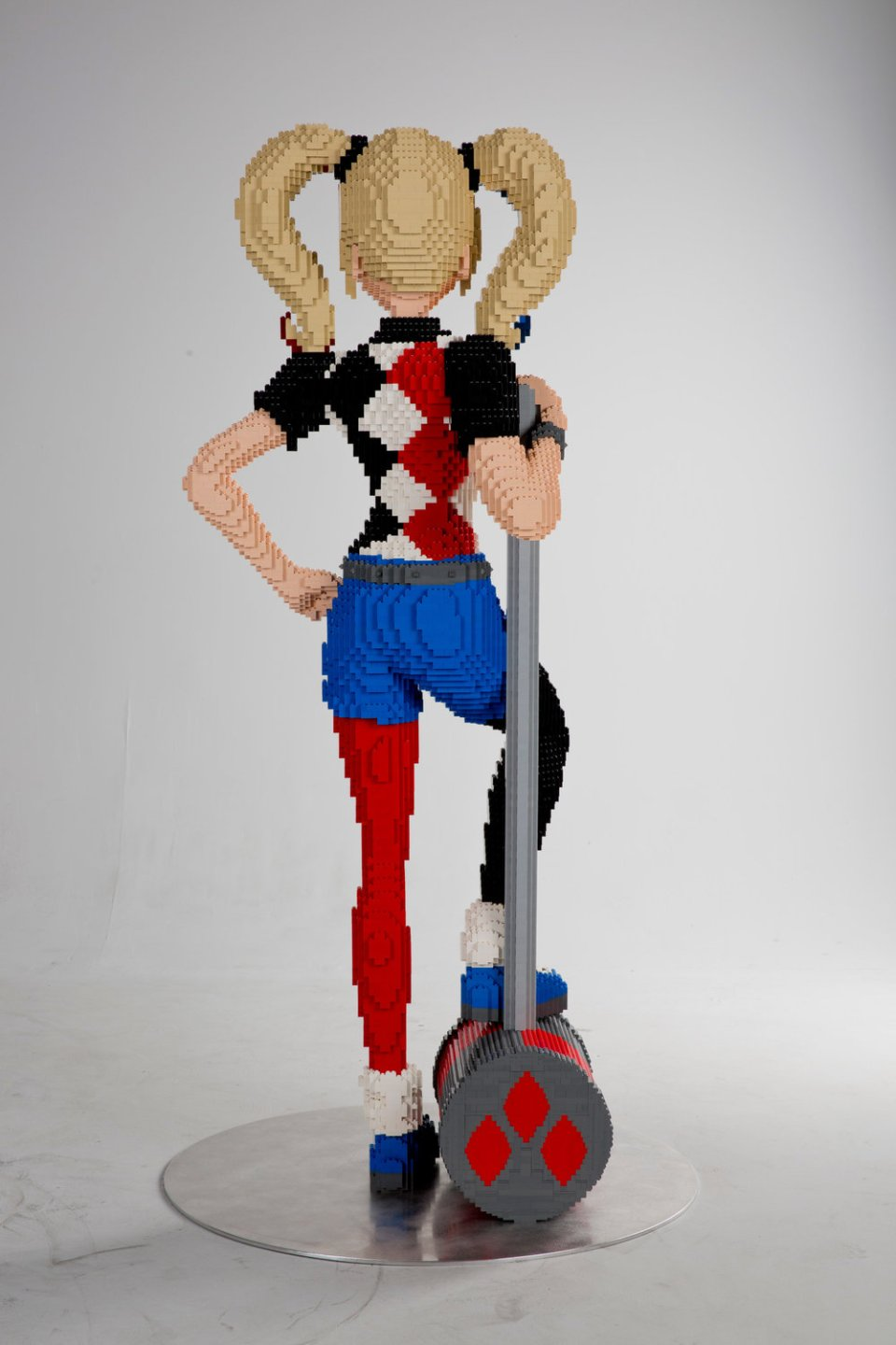 Life-Sized LEGO Version of Harley Quinn