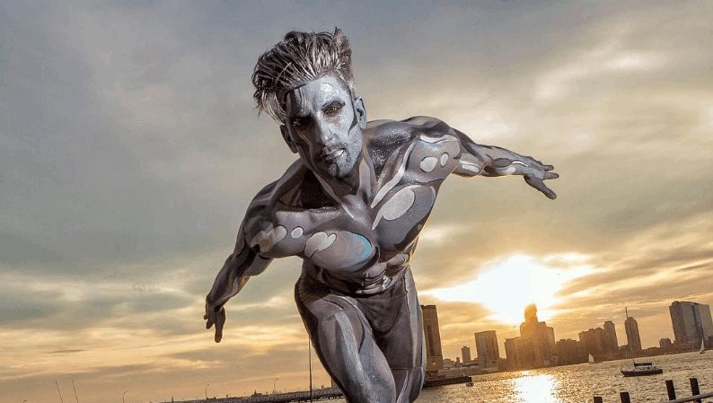 Real Life Silver Surfer
