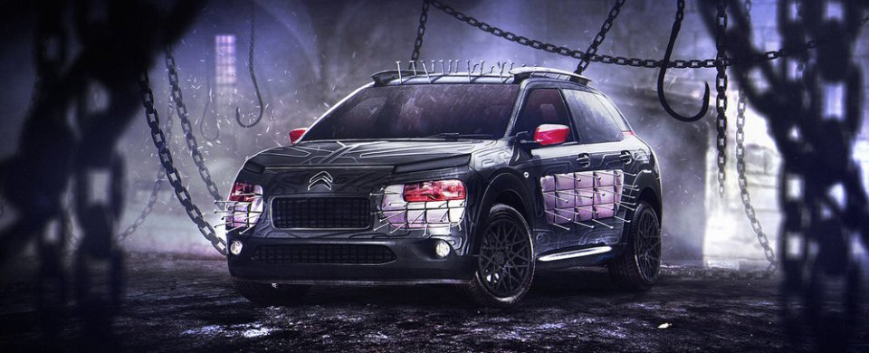 Cars as Iconic Horror Movie Characters