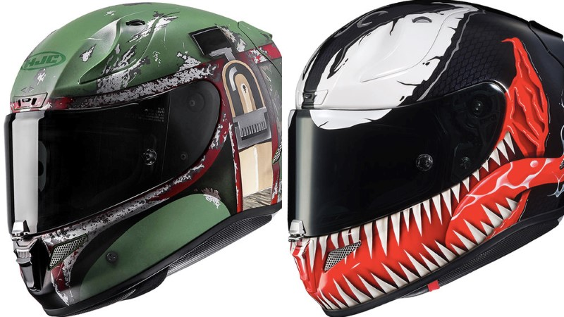 Pop Culture-Themed Motorcycle Helmets