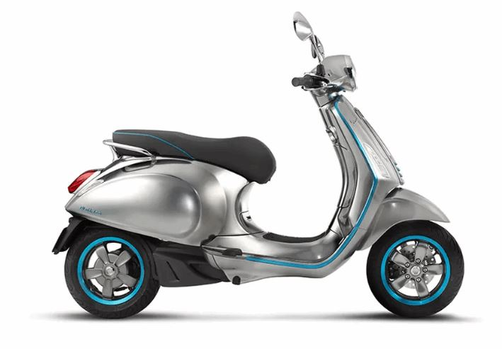 Vespa's First Electric Scooter