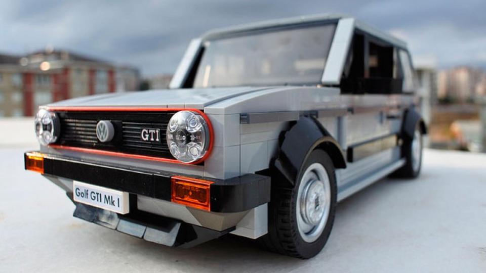 VW Golf GTI Lego Replica