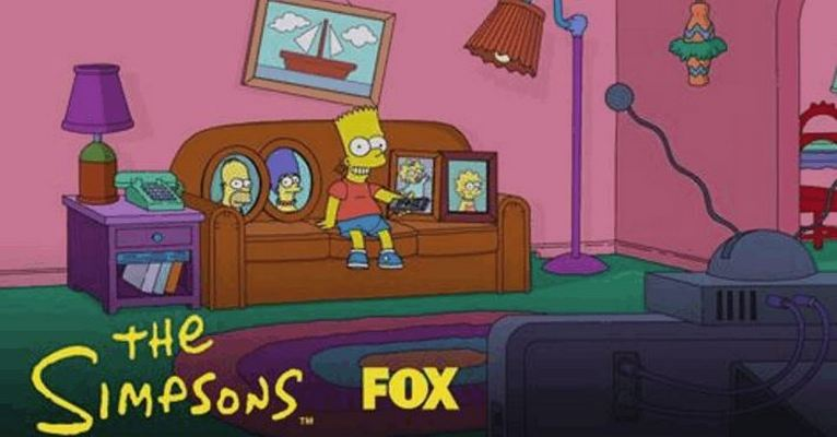 Bart Finally Gets the TV Remote