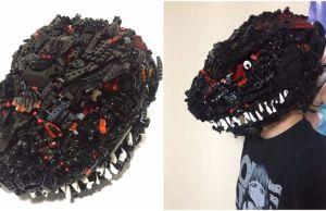 godzilla lego helmet