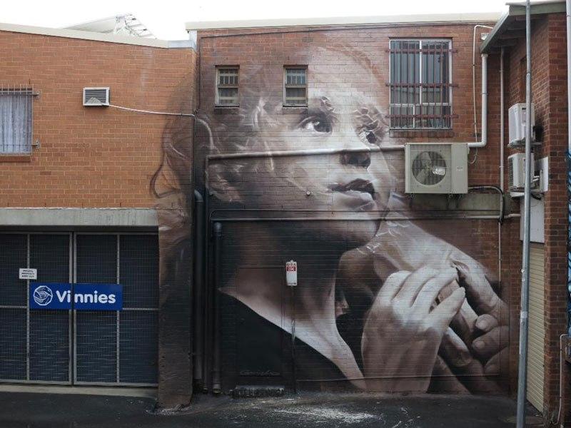 Murals On Buildings