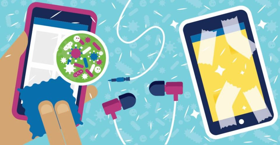 Clean Your Dirty Phone