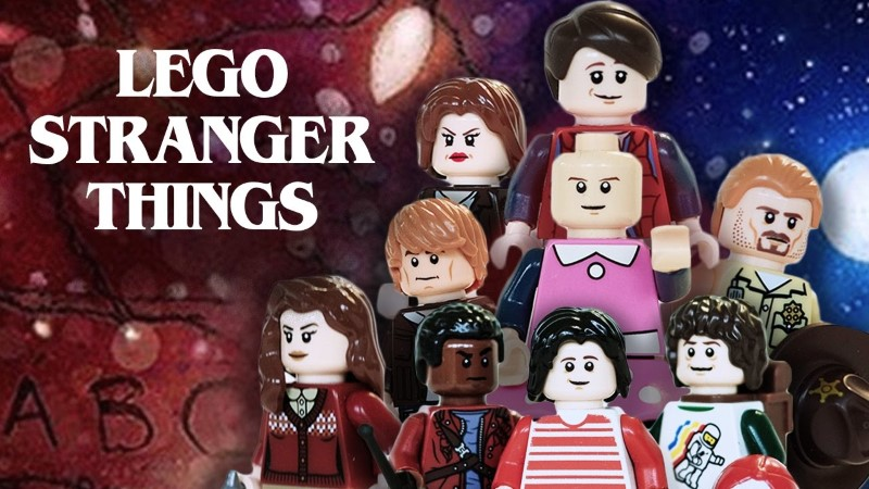 LEGO Stop-Motion Animation of Stranger Things
