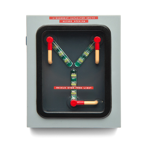 Back to the Future Flux Capacitor