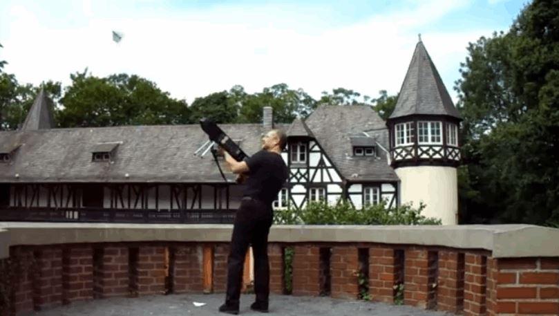 3D-Printed Paper Airplane Gun