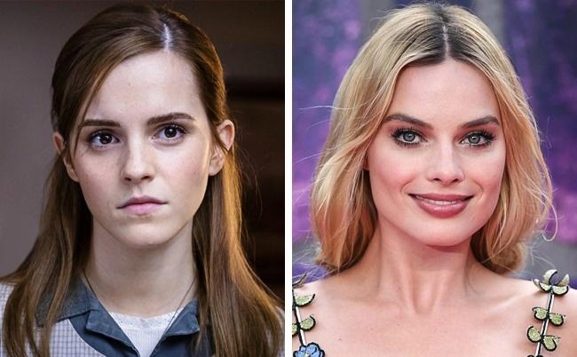 Emma Watson and Margot Robbie