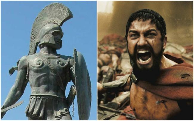 King Leonidas I in '300′