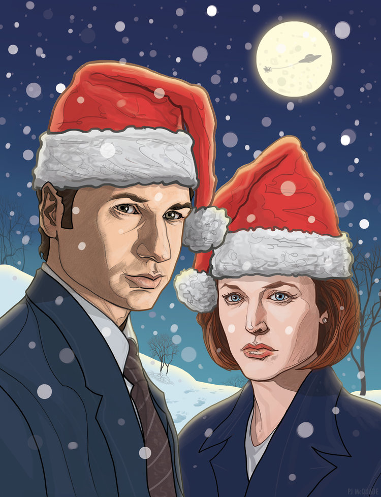 Geek Culture Christmas Cards Featuring INDIANA JONES, BACK TO THE ...