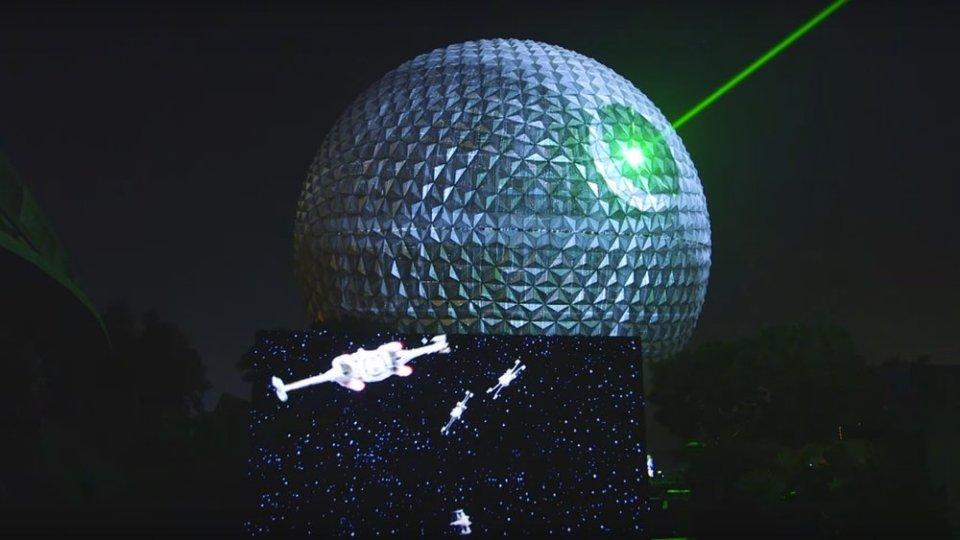 Spaceship Earth Transforms Into Death Star