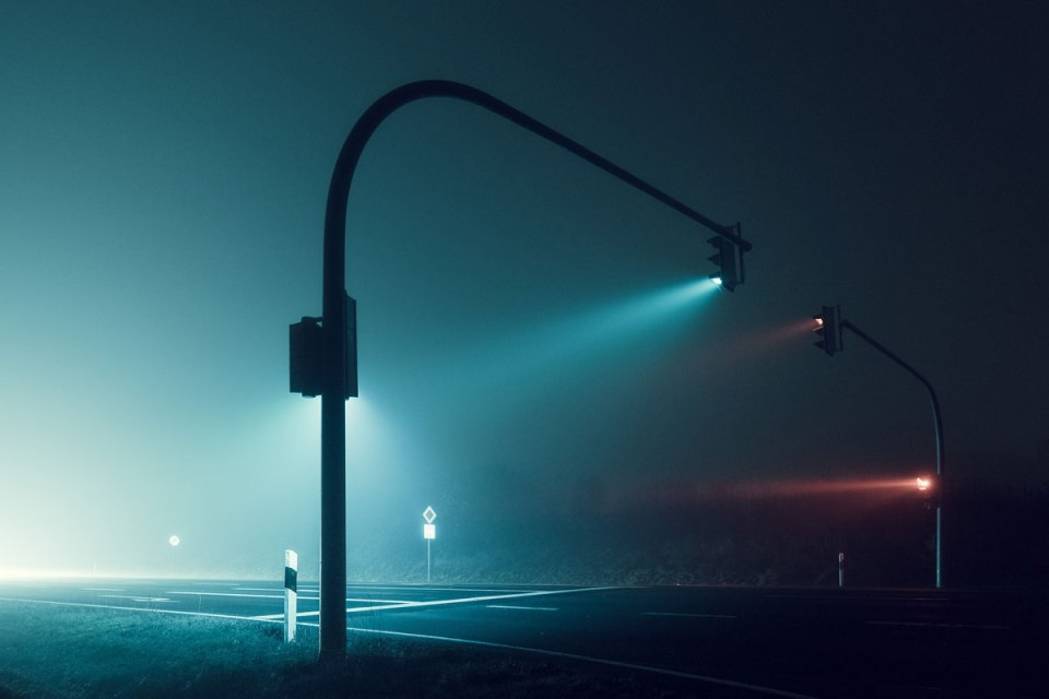 Foggy Nights and Long Exposure Lights