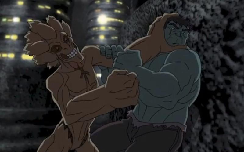 Groot+Hulk