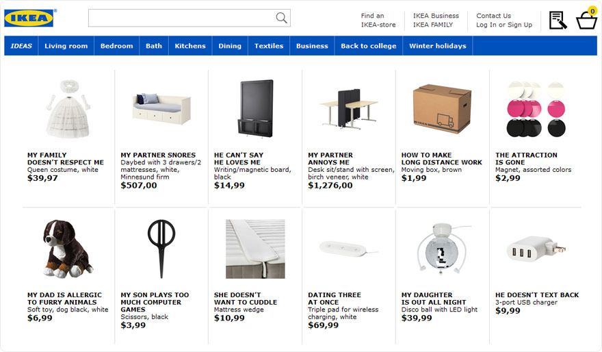 IKEA Products Hilariously Renamed
