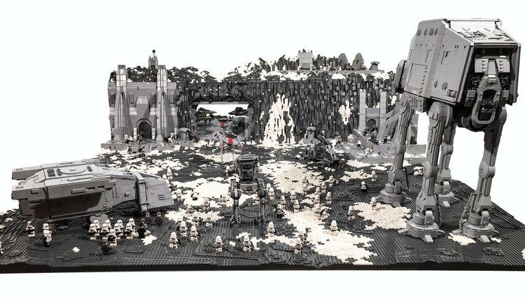 Cool STAR WARS LEGO Diorama