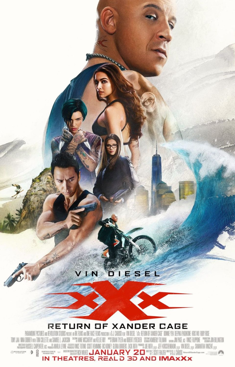 xXx: Return of Xander Cage-poster