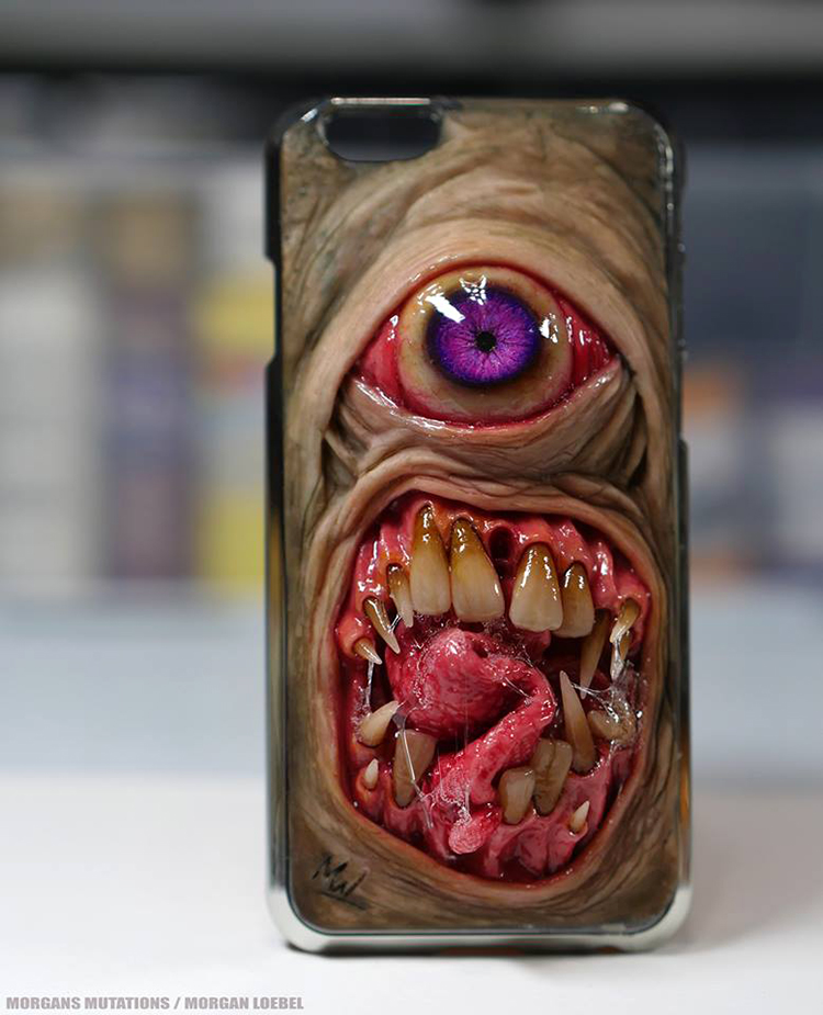 Gruesome Collection Of Phone Cases