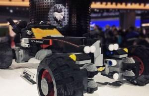 Chevy's Life Size Lego Batmobile