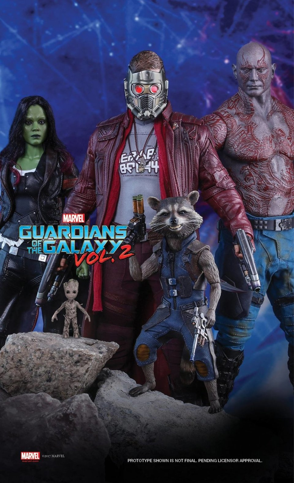 Hot Toys GUARDIANS OF THE GALAXY VOL. 2 Action Figure (1)