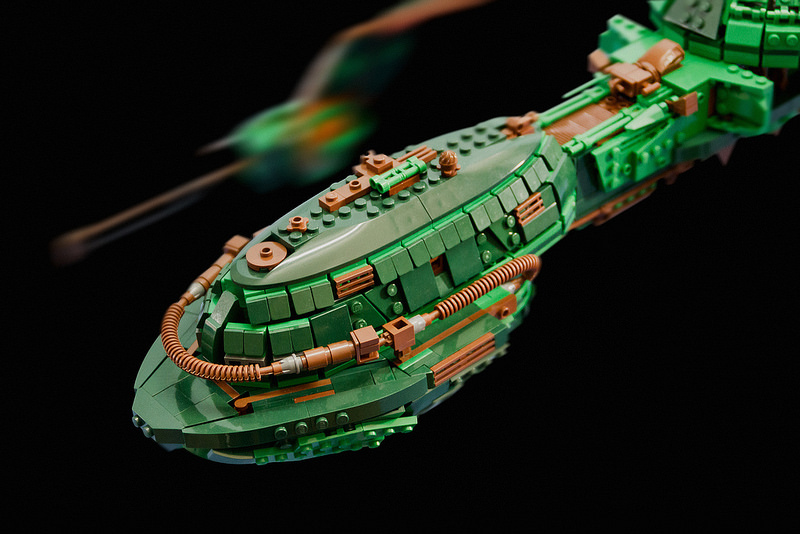 Klingon Bird-of-Prey Ship