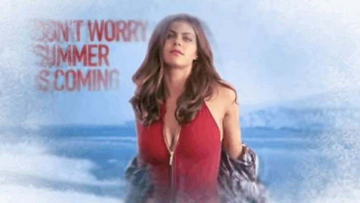 Sizzling Baywatch Motion Posters