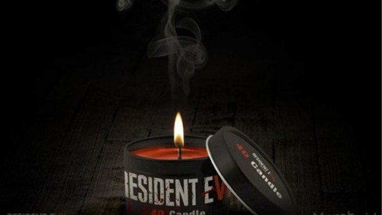 RESIDENT EVIL 7 Candle