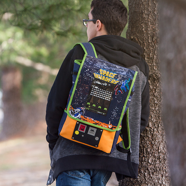 SPACE INVADERS Arcade Backpack