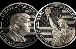 Russians Made 'IN TRUMP WE TRUST' Coins
