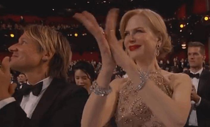 Nicole Kidman's Clapping