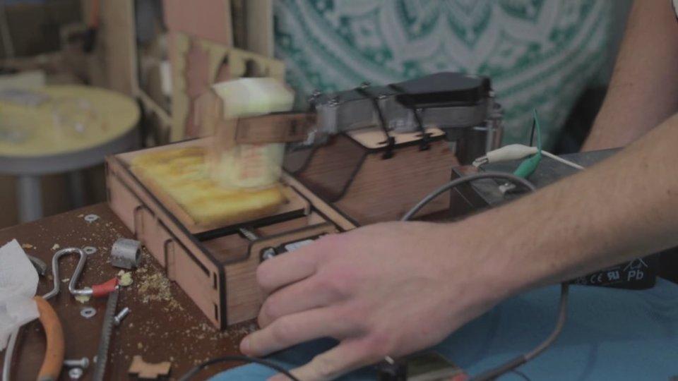 Bread Buttering Robot