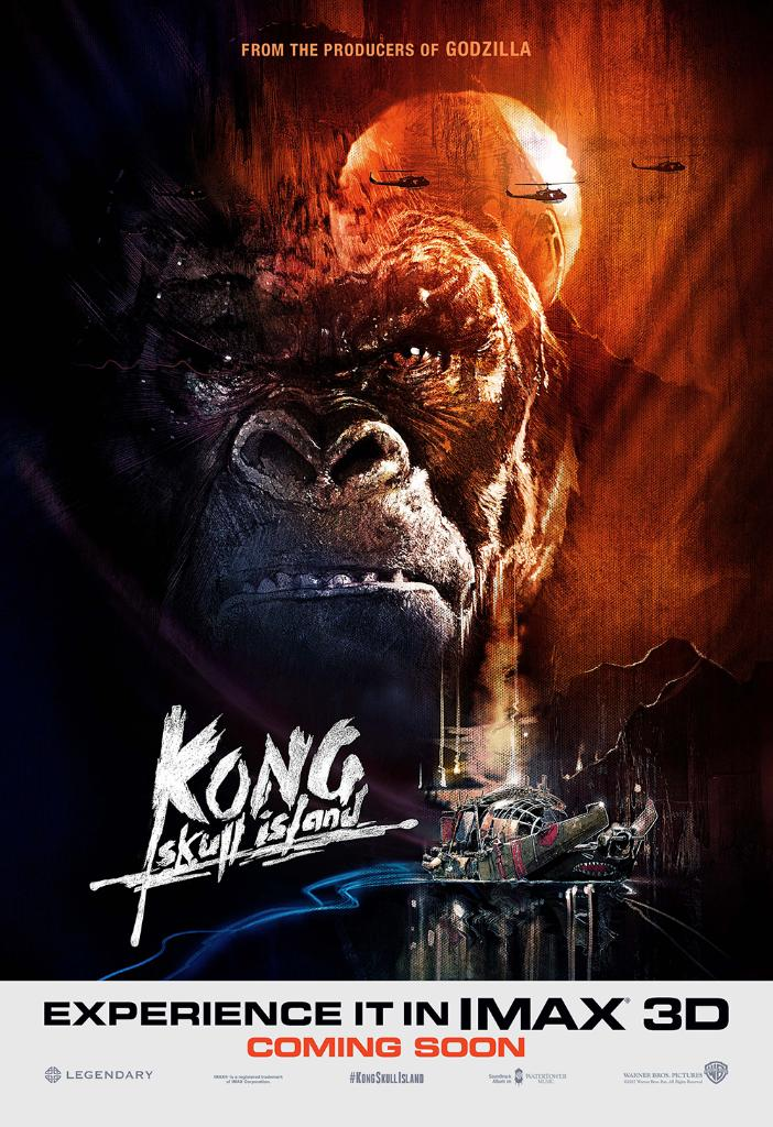 He Is Pissed In The New Japanese Kong Skull Island Poster Fizx