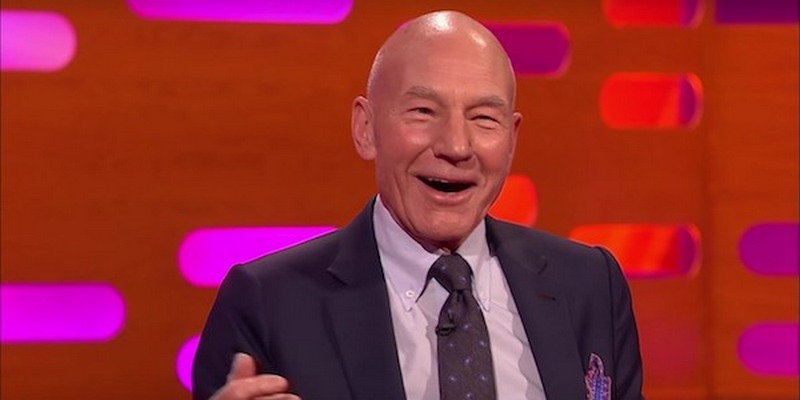 Patrick Stewart Believed All His Life That He Was Circumcised - Graham Norton Show