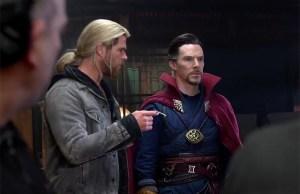Doctor Strange and Thor