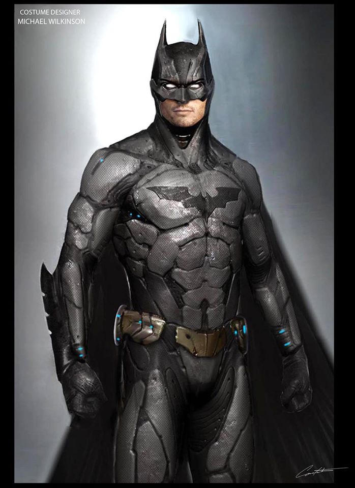 BATMAN V SUPERMAN'S Alternate Batman Designs