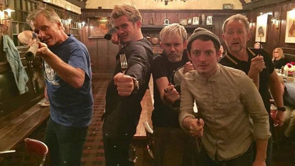 THE LORD OF THE RINGS Cast