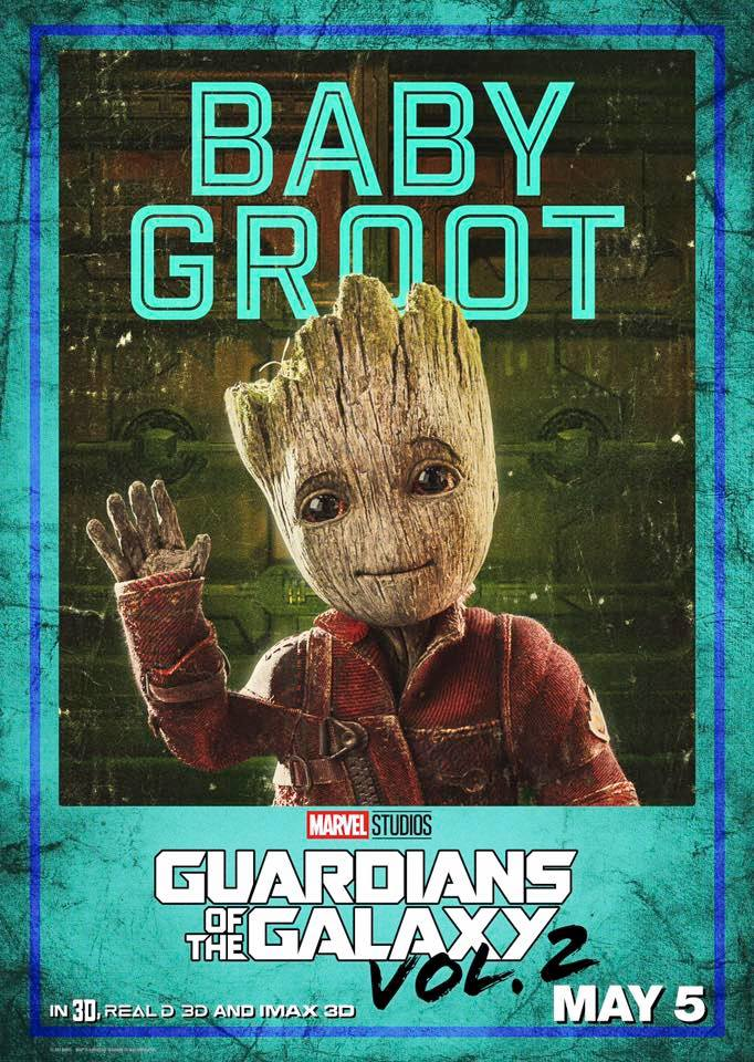 Guardians 2 Character Posters Are Breaking The Internet Right Now