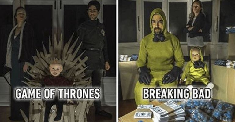 Famous Movie And TV Scenes Created By This Family Using Cardboard Boxes