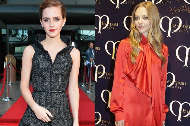 Emma Watson, Amanda Seyfried