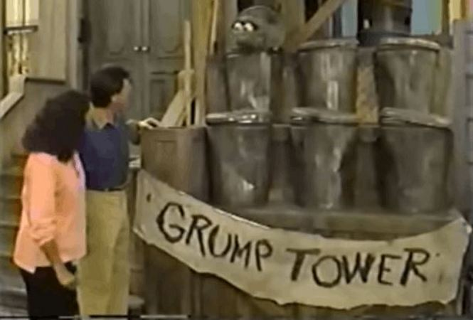 'Sesame Street' Has Awesomely Trolled Donald Trump for Decades