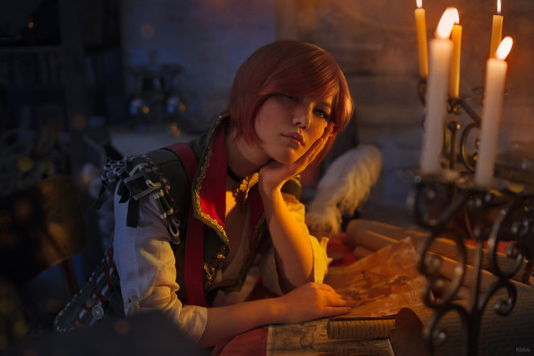 Shani WITCHER Cosplay