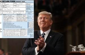 Trump's Tax Return
