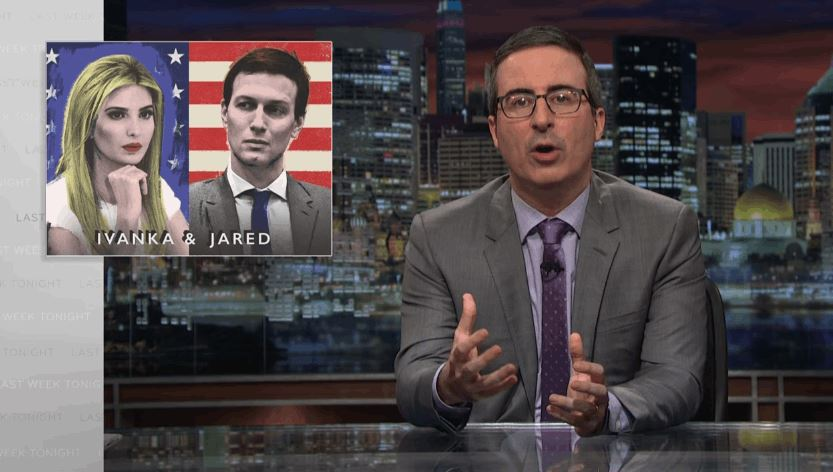 Ivanka & Jared Explained In Great Detail By John Oliver