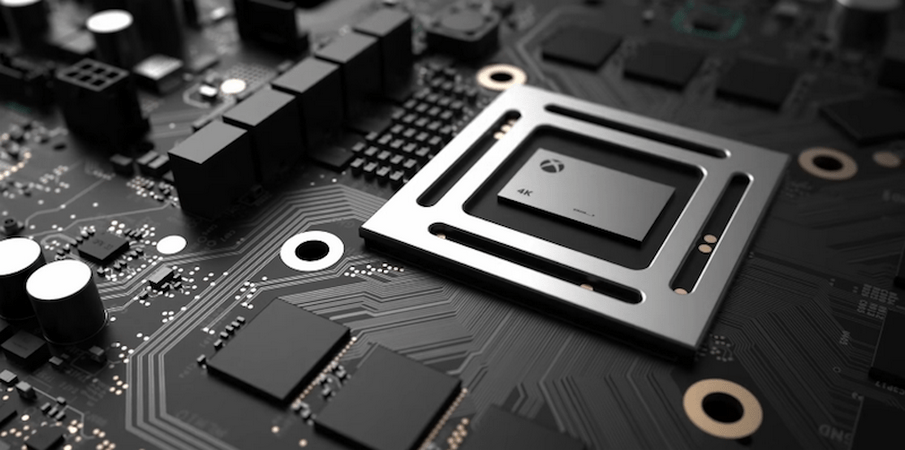 Project Scorpio Graphical Boost Comparison Over Xbox One